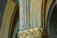 haut de pilier et arcades