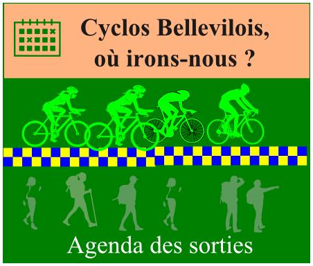 agenda des cyclos 2021